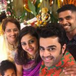 Maniesh Paul selfie on Ganesh Chaturthi 2017