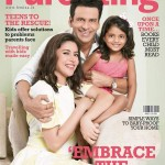 Manoj Bajpayee with wife Shabana and Daughter