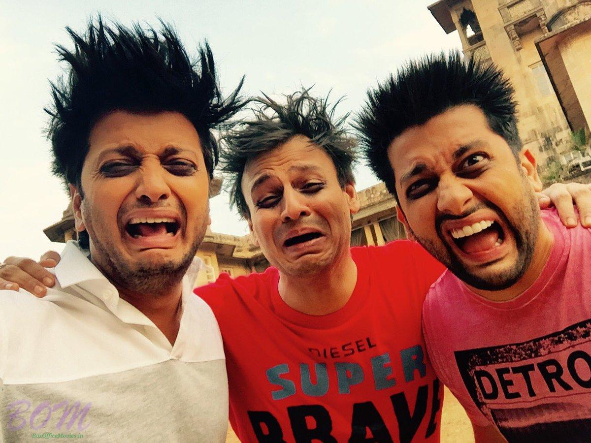 Mastikhor picture of Vivek, Riteish, and Aftab