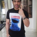 Mastizaade lead actor Tusshar ‏Kapoor picture after he got inked for voting