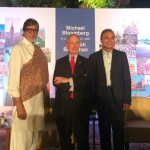Mike Bloomberg, Amitabh Bachchan and Anil Ambani together