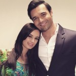 Mimoh Chokraworty with Evelyn Sharma