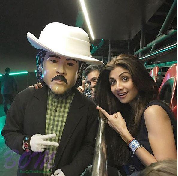 Mr. India Anil Kapoor with Shilpa Shetty