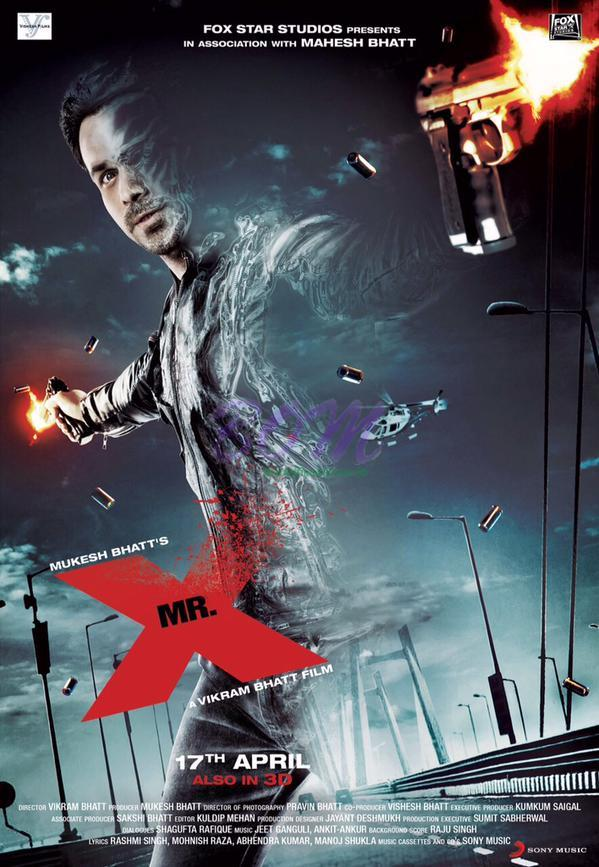 Mr. X First Look poster released on 17 March 2015