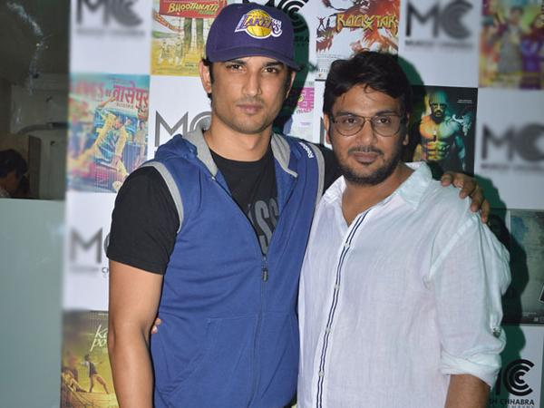 Mukesh Chhabra Sushant Singh Rajput may make movie together soon