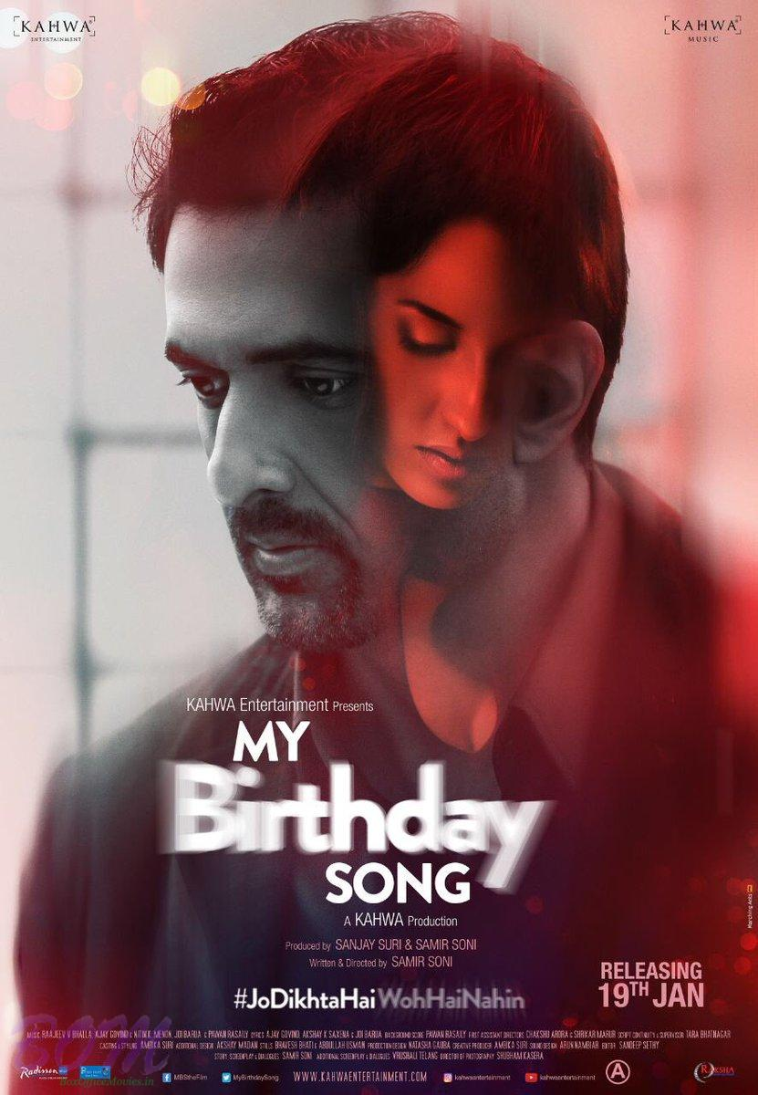 my birthday song movie first look poster pics bollywood