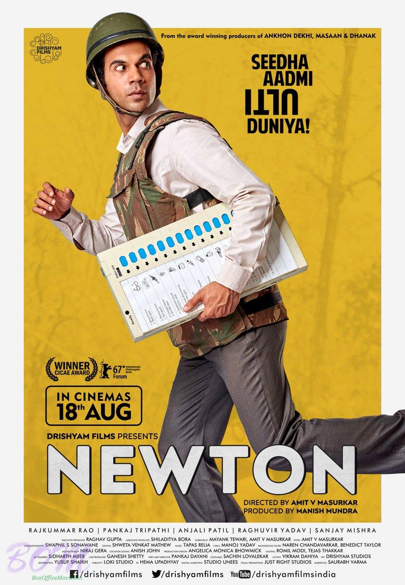 newton movie poster pics bollywood actor movie