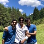 Nagarjuna with Ranbir Kapoor and Ayan Mukerji for Brahmastra