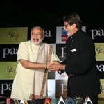 Narendra Modi with Great Amitabh Bachchan