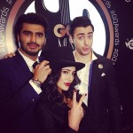 Nargis Fakhri, Arjun Kapoor and Imran Khan spotted together in GQ Awards