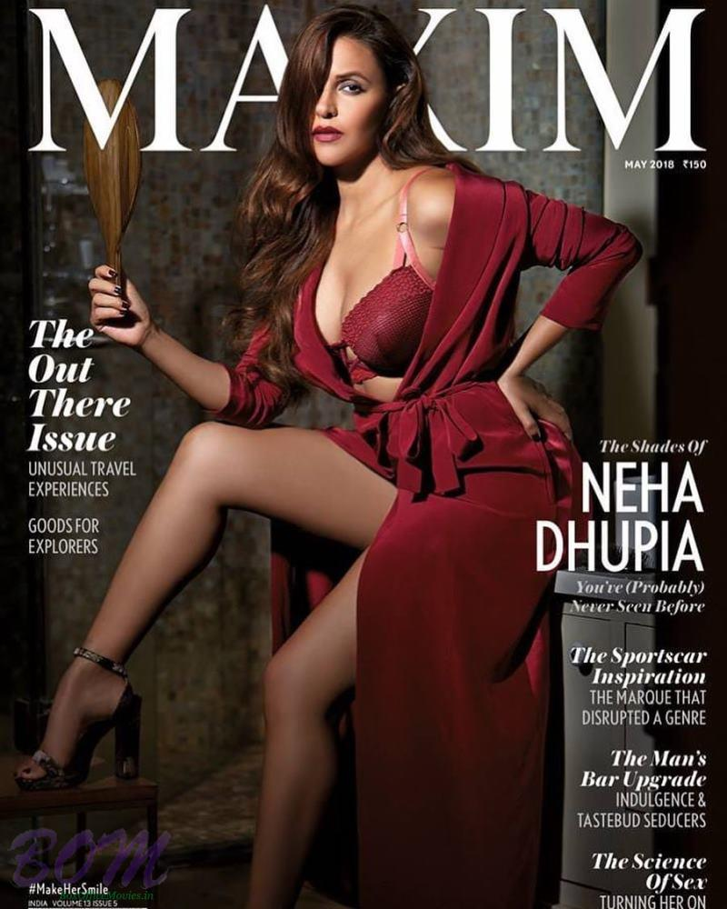 Neha Dhupia cover girl for MAXIM Magazine May 2018 issue