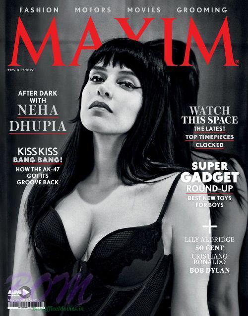 Neha Dhupia cover girl for Maxim magazine July 2015 issue