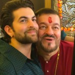 Neil Nitin Mukesh selfie father on Ganesha Chaturthi 2015