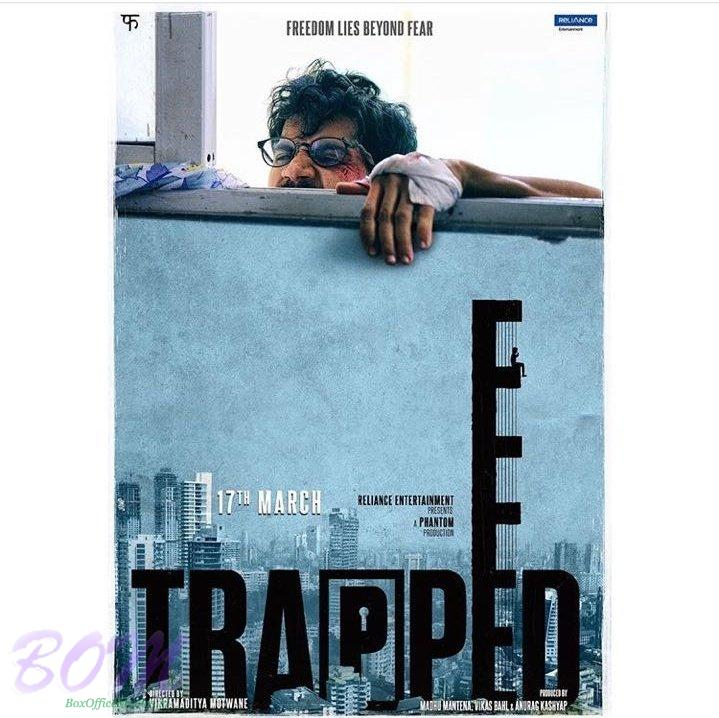 New Poster of Raj Kummar Rao starrer Trapped movie