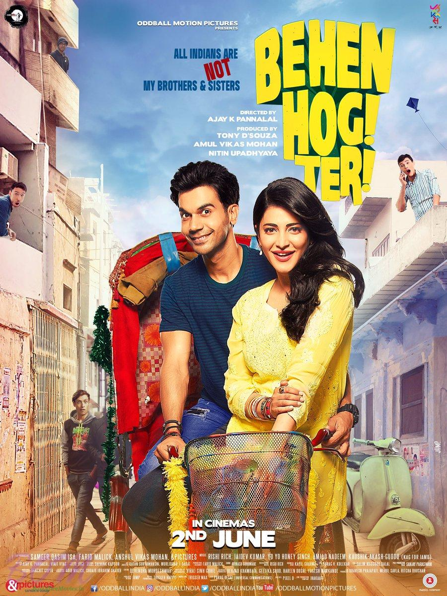 New poster of Behen Hogi Teri