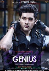 New poster of Genius movie starring Utkarsh Sharma