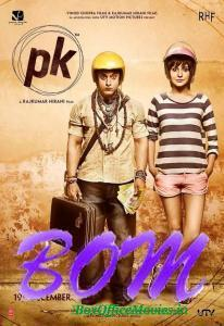 New poster of PK movie featuring Aamir Khan and Asnuskha Sharma