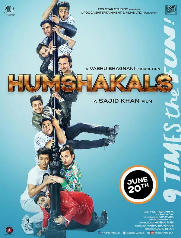 New poster of Poster of humshakals as on 5 june 2014