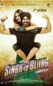 New poster of Singh Is Bliing movie