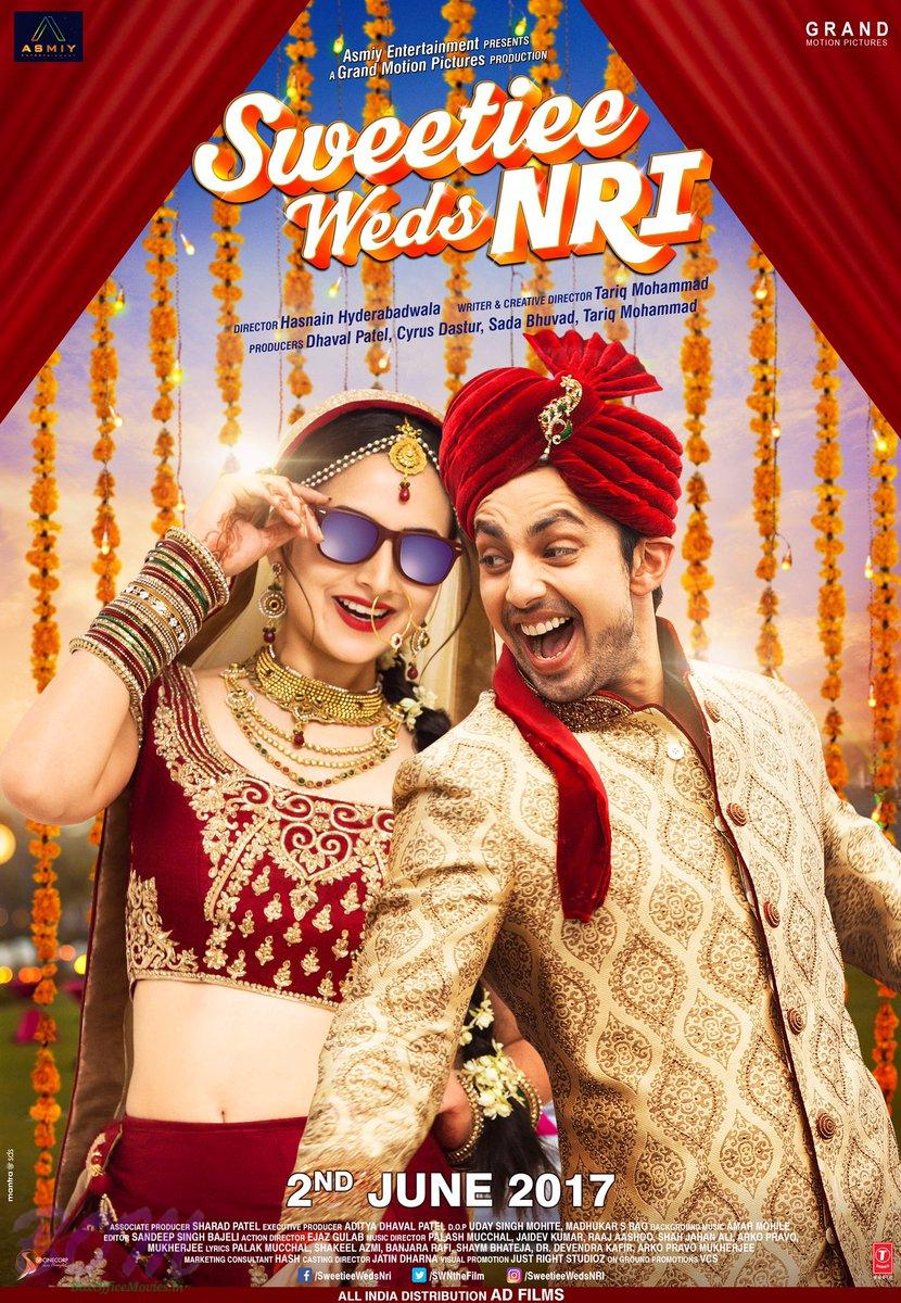 New poster of Sweetiee Weds NRI movie