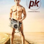 Nude Dude Aamir Khan in the First Look of PK Movie releasing 19 December 2014