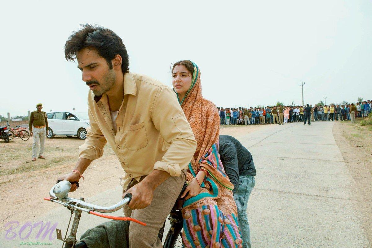 Vaurn Dhawan and Anushka Sharma sharp look from Sui Dhaaga