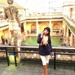 PARINEETI CHOPRA The gorgeous Roman baths.