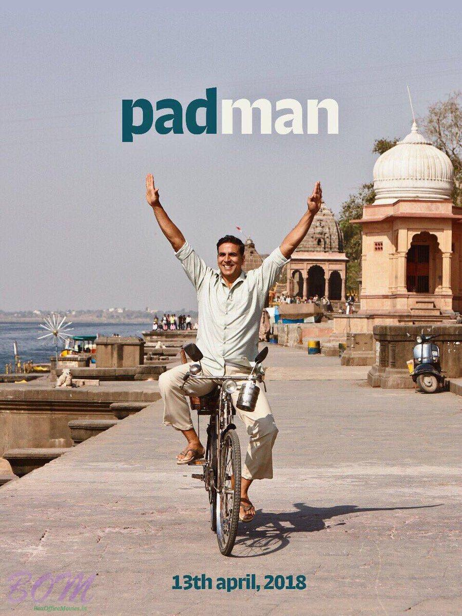 Padman movie new poster on 3 Aug 2017