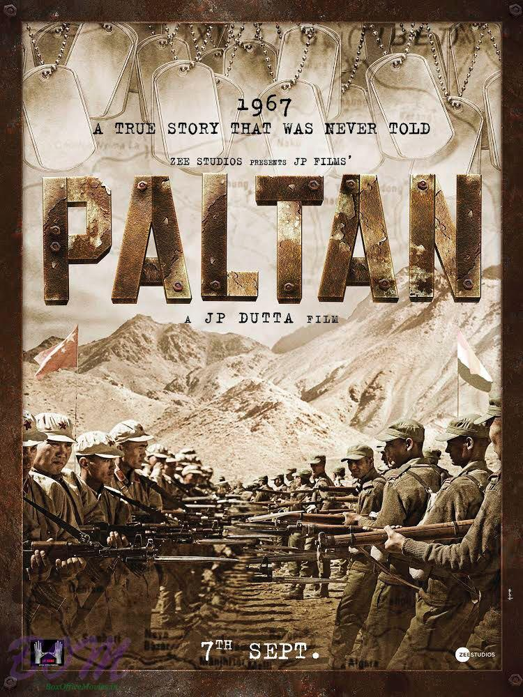 Paltan Movie Poster