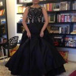 Parineeti Chopra in a gorgeous ball gown type dress