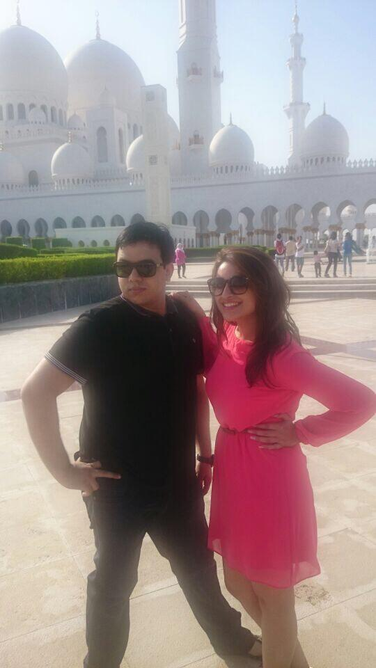 Parineeti Chopra with Shah Zaibis 'Hotter than the weather at 45 degrees in abu dhabi
