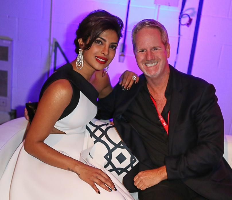 Picture of Jimmy Dobson with Priyanka Chopra