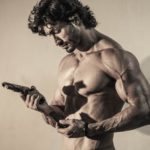 Commando Vidyut Jammwal with Gun and Bullet