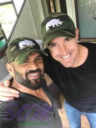 Poachers beware because Suniel Shetty and Kevin Pietersen eyes on you