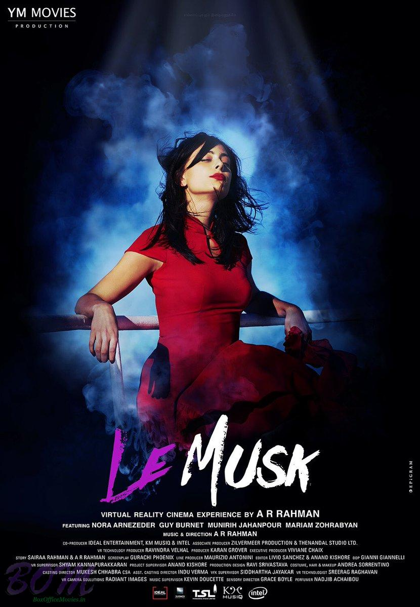 Poster of AR Rahman's directorial debut LE Musk