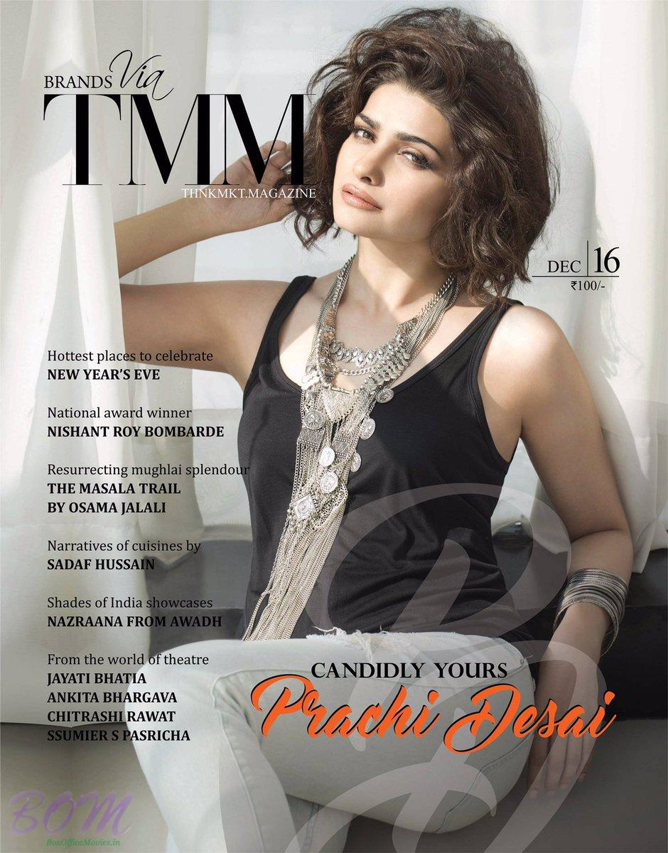 Prachi Desai cover girl for TMM Dec 2016 issue