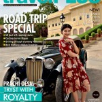 Prachi Desai in Travel Plus Magazine cover page for September Issue