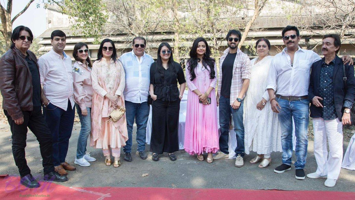 Priyaank and Riva starrer Sab Kushal Mangal movie first day picture