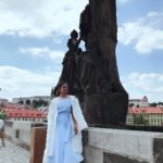 Priyanka Chopra at Charles Bridge