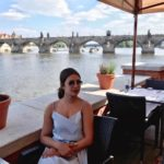 Priyanka Chopra at Vltava river