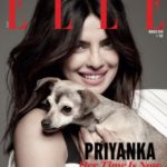 Priyanka Chopra cover girl for Elle Magazine Mar 2018 issue