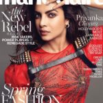 Priyanka Chopra cover girl for Marie Claire Magazine April 2017 issue