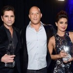 Priyanka Chopra poses with Vin Diesel