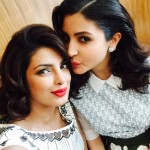 Priyanka Chopra selfie with Anushka Sharma