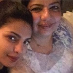 Priyanka Chopra selfie with her Mother