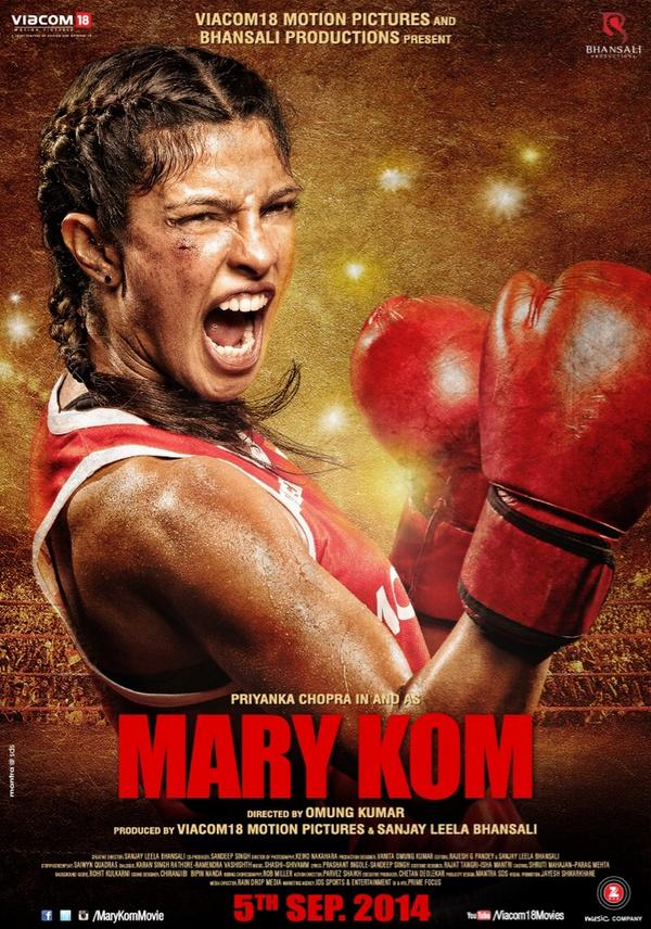 Mary Kom Movie Release Date is 5 September 2014