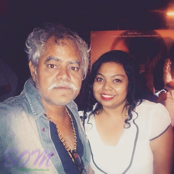 Puja Benerji with Sanjay Mishra