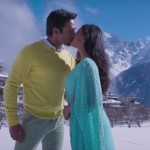 Pulkit Samrat and Yami Gautam kiss scene in Sanam Re movie