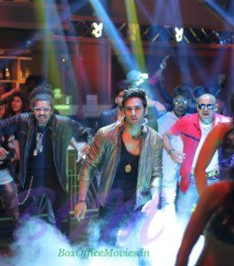 Pulkit Samrat in a song sequence of Veerey Ki Wedding