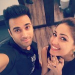 Pulkit Samrat selfie with Yami Gautam on Valentine Day 2016
